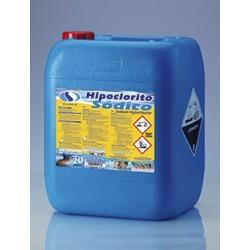 Hipoclorito Sódico Líquido 25 Kg.